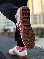Кроссовки мужские Adidas Samba  белые white, фото 1