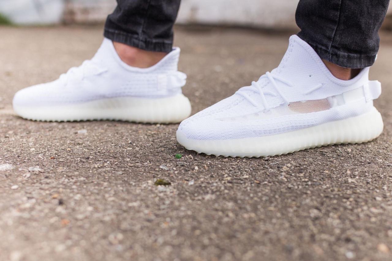 Мужские кроссовки Adidas Yeezy Boost 350 White