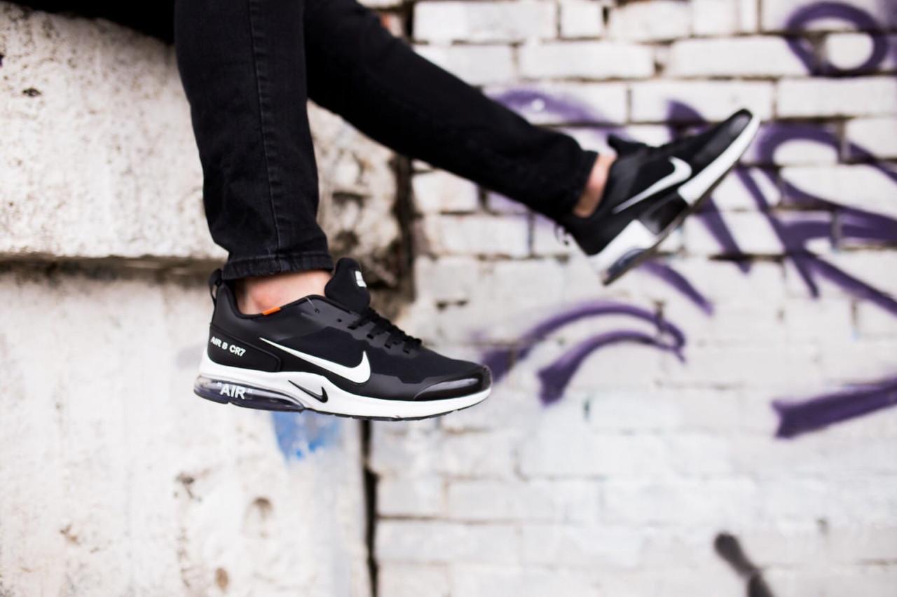 Мужские кроссовки Nike Air Presto CR7 (черно-белые)