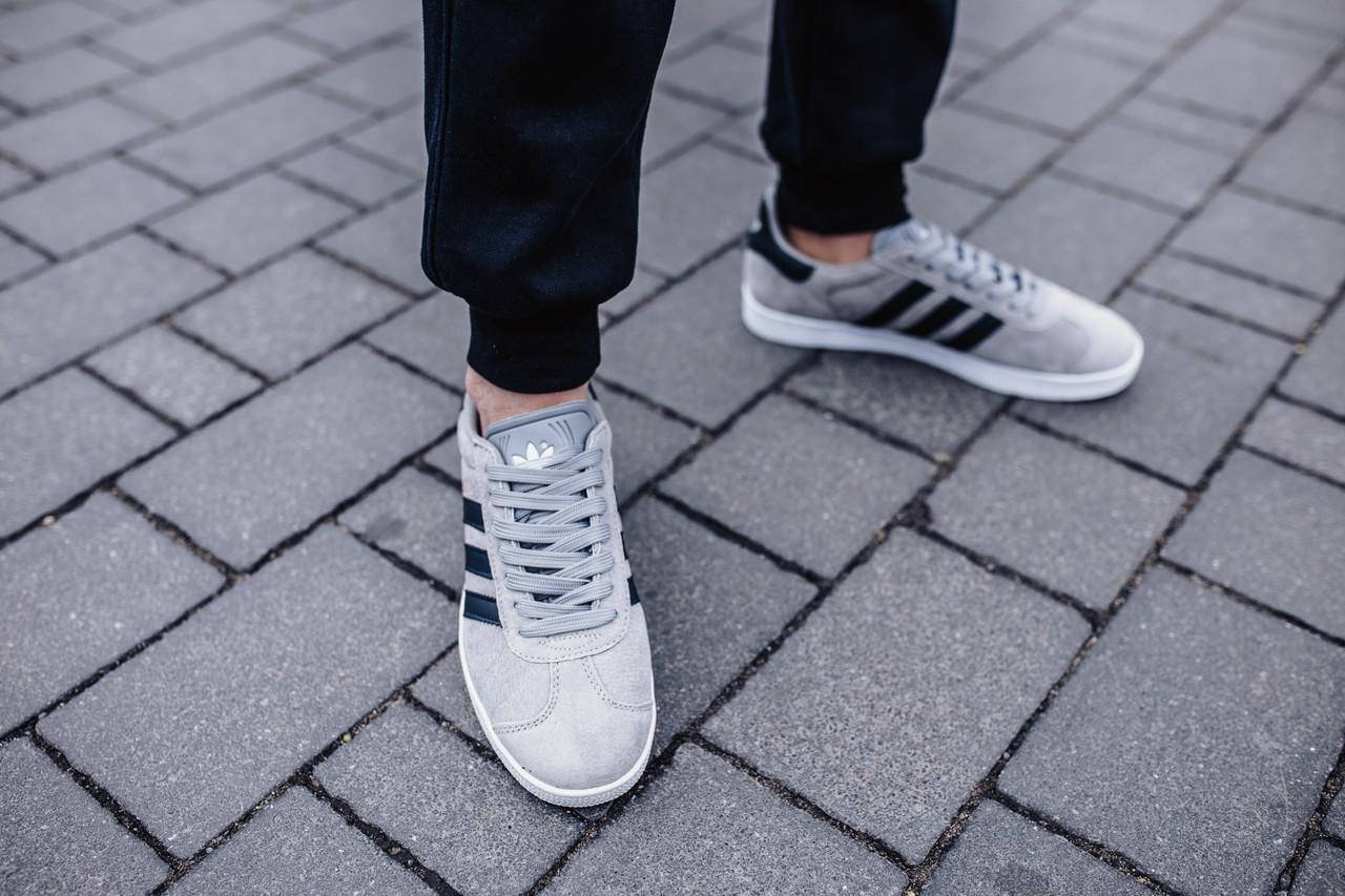 Кроссовки мужские Adidas Gazelle Grey
