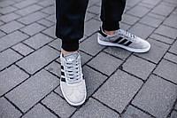 Кроссовки мужские Adidas Gazelle Grey, фото 1