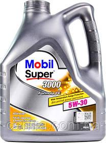 Моторное масло Mobil Super 3000  Formula-FE 5W-30 4L