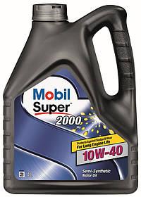 Моторное масло Mobil Super 2000 10W-40 4L
