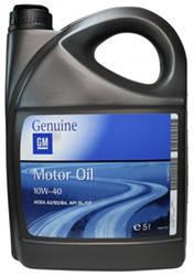 Моторное масло GM Motor Oil 10W-40 5L