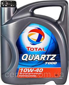 Моторное масло TOTAL QUARTZ 7000 10W-40 4L