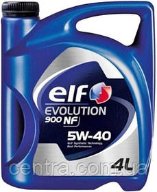 Моторное масло Elf EVOLUTION 900 NF 5W-40 4L