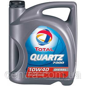 Моторное масло TOTAL QUARTZ 7000 10W-40 Diesel 5L