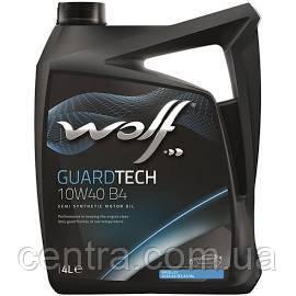 Моторное масло  Wolf GuardTech B4 10W-40  4L