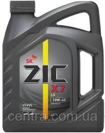 Моторное масло ZIC 10W-40 X7 LS  4L