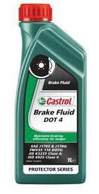 Тормозная жидкость CASTROL Brake Fluid DOT-4 1L