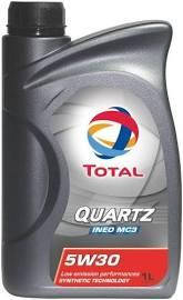 Моторное масло  TOTAL 5W-30 INEO MC3 1L