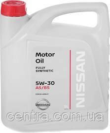 Моторное масло NISSAN Fully Syntetic A5/B5 5W-30 5L