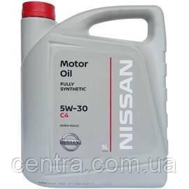 Моторное масло  NISSAN Fully Syntetic 5W-30 C4 (Diesel DPF) 5L