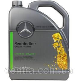 Моторное масло  MERCEDES BENS 5W-30 (MB229.51) 5L