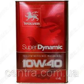 Масло моторное WOLVER Super Dynamic 10W-40 4L