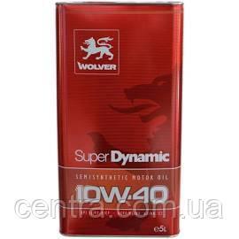 Моторное масло WOLVER Super Dynamic 10W-40 5L