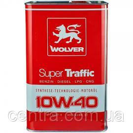 Масло моторное WOLVER Super Traffic 10W-40 4L