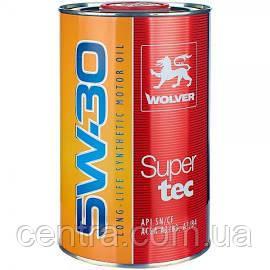 Моторное масло WOLVER Supertec 5W-30 1L