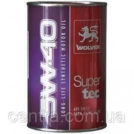 Моторное масло WOLVER Supertec 5W-40 1L
