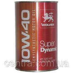 Масло моторное WOLVER Super Dynamic 10W-40 1L