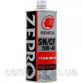 Моторное масло  IDEMITSU  ZEPRO EUROSPEC 5W-40 1L