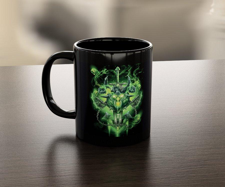 Кружка чашка Death Knight Unholy
