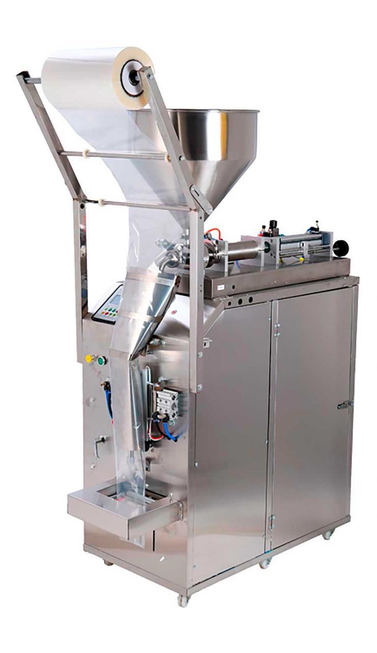 Фасувально-пакувальний автомат для рідких продуктів