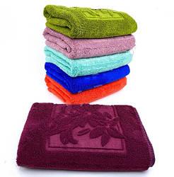 Банные полотенца микрофибра «Лепестки» (6 шт)