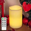 Электронная свеча 15 см с дистанционным управлением