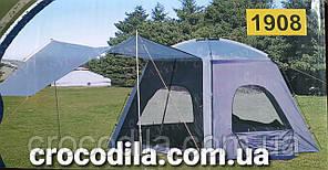 Палатка шатер 4  местная  210*230x160 см LANYU LY 1908