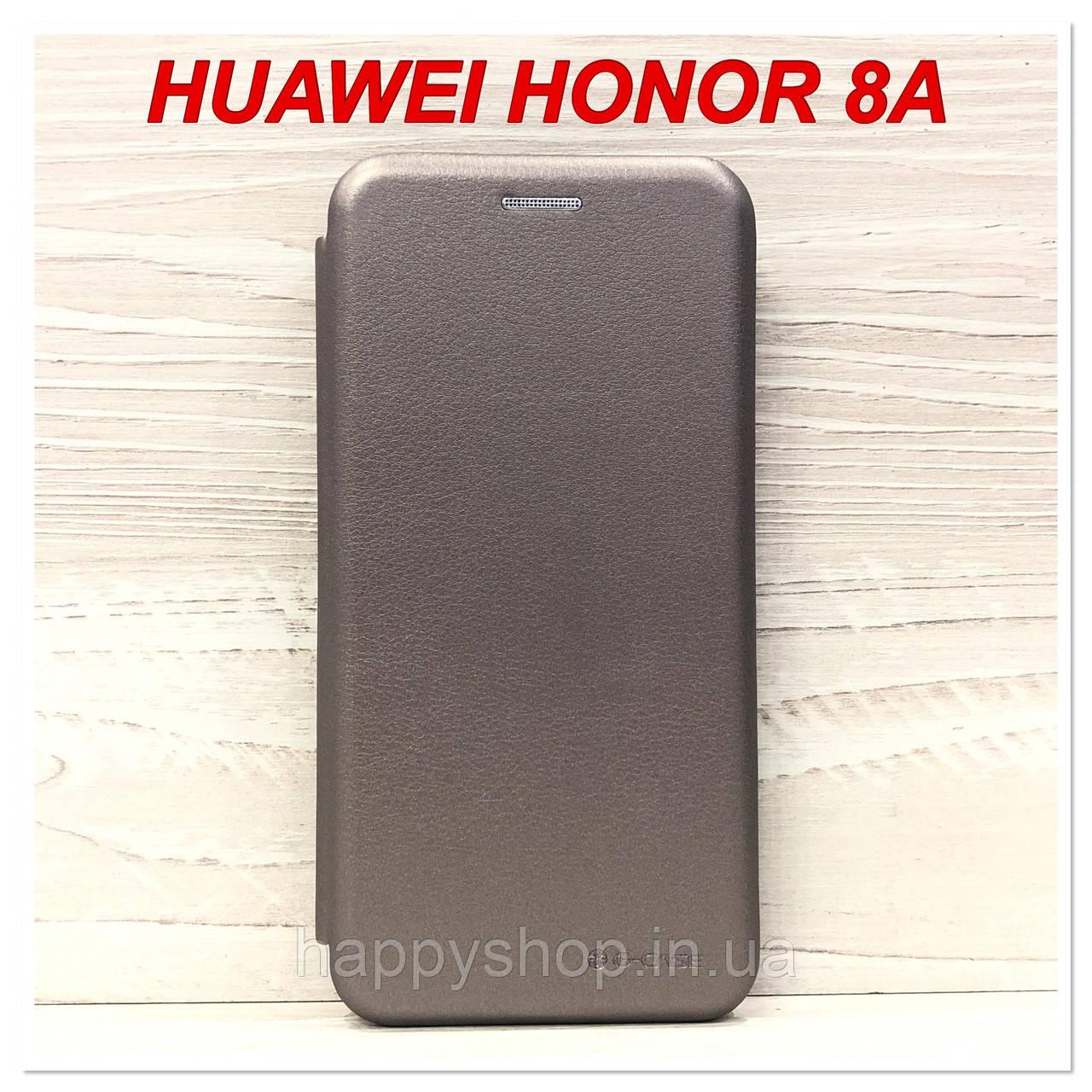 Чохол-книжка G-case для Huawei Honor 8A (Сірий)