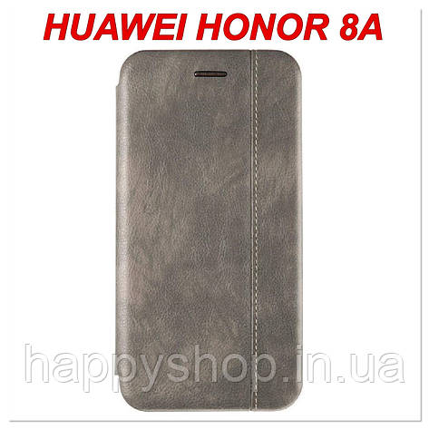 Чехол-книжка Gelius Leather для Huawei Honor 8A (Серый), фото 2