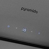 Витяжка кухонна похила PYRAMIDA HES 30 (D-600 MM) GREY\AJ, фото 4
