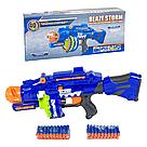 "Автомат бластер ""Blaze Storm"" с мягкими пулями 40шт. на батарейках Nerf Нерф   , фото 2"
