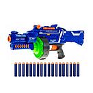 "Автомат бластер ""Blaze Storm"" с мягкими пулями 40шт. на батарейках Nerf Нерф   , фото 4"