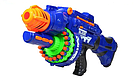 "Автомат бластер ""Blaze Storm"" с мягкими пулями 40шт. на батарейках Nerf Нерф   , фото 3"