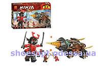 Конструктор Ninja Ниндзя Земляной бур Коула: 610 деталей