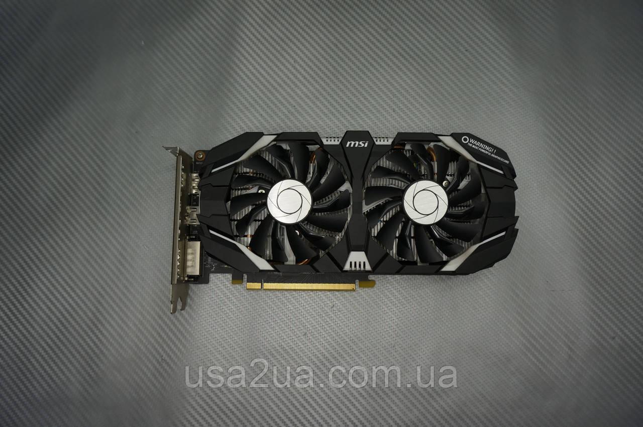 Видеокарта MSI GeForce GTX 1060 3 GB GDDR5 192-bit гарантия кредит