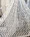 Тюль в зал цвет белый узор волна, фото 4