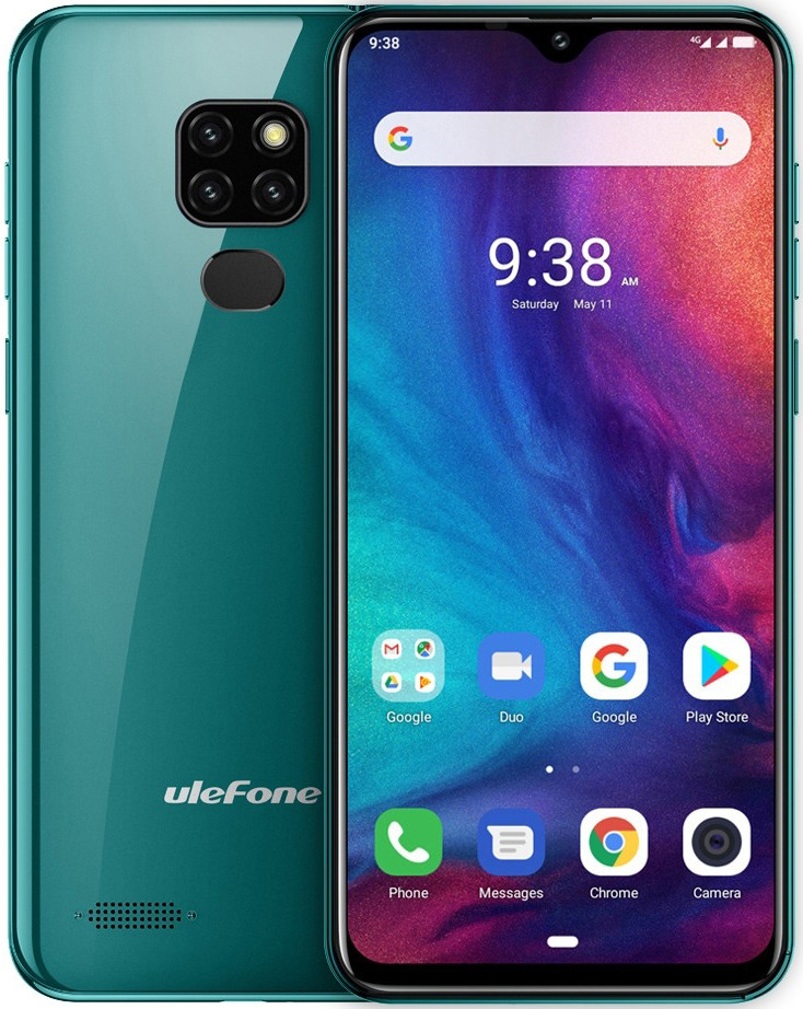 Ulefone Note 7P | Зелений | 3/32Гб | Гарантія