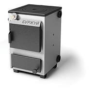 Котел твердотопливный (электро) стальной  Буржуй КП(э)-12 варочная 4 мм(Доставка бесплатно!), фото 1