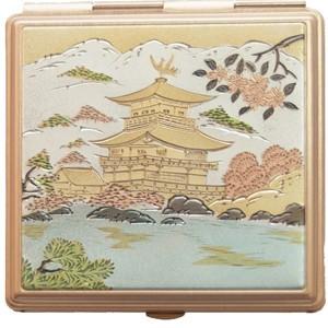 Компактное квадратное зеркало «Пагода»