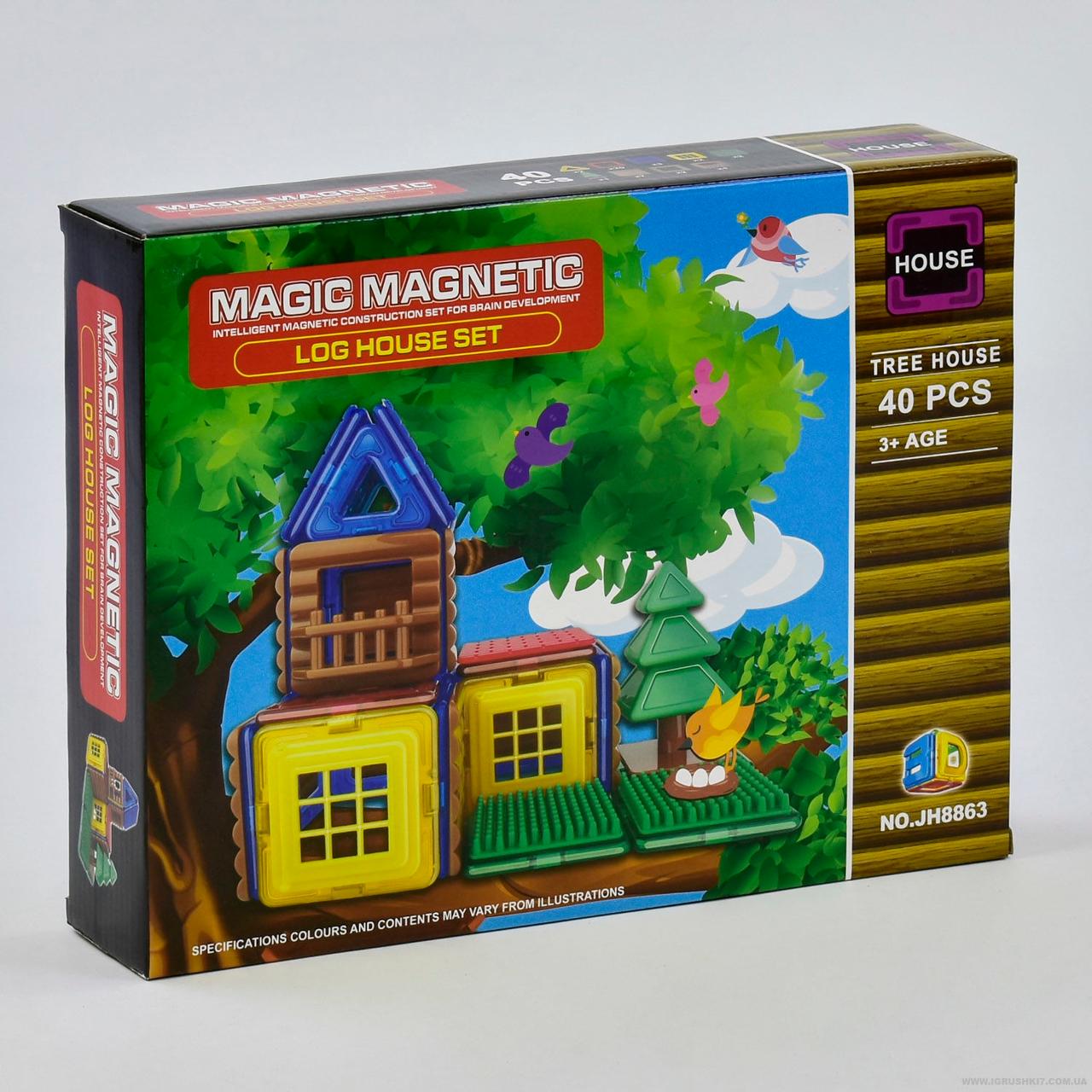 """Магнитный конструктор """"Magic Magnetic"""" 40 деталей"""