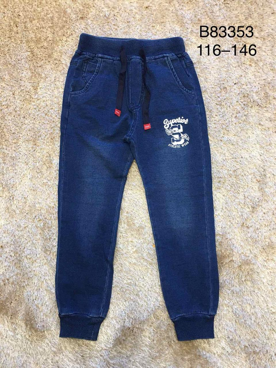 Брюки под джинс для мальчиков оптом, Grace, 116-146 см, Арт. B83353