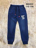 Брюки под джинс для мальчиков оптом, Grace, 116-146 см, Арт. B83353, фото 1