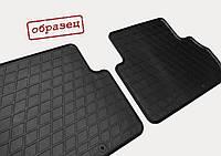Гумові килимки в салон Toyota Camry V50 2011 (design 2016) з пластиковими кліпсами TL, фото 3