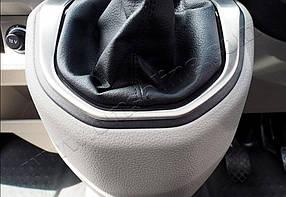 Окантовка ручки КПП (нерж) Volkswagen T6 2015↗ гг. / Хром накладки в салон Фольксваген T6