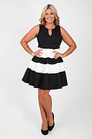 Стильное платье от производителя Royal Lusien большого размера 10-201