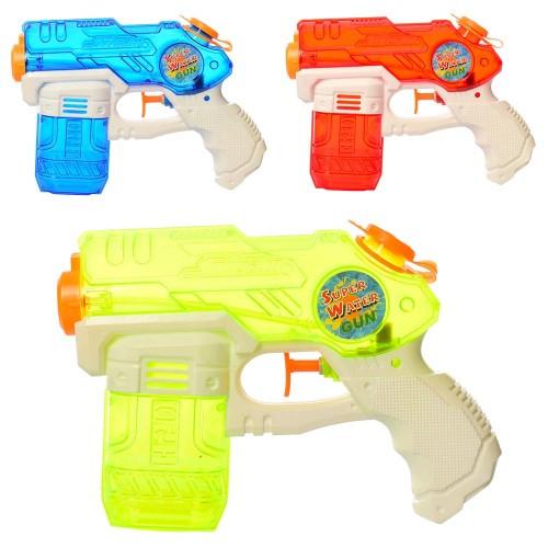 Водяной пистолет M 5933 размер маленький 19см 3цвета в шарик 13-19-3 5см