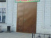 Двери входные на две створки, Д-406